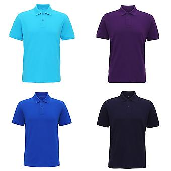 Asquith & Fox Mens Super lisse maille Polo Shirt