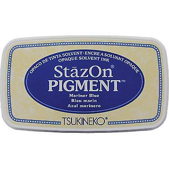 StazOn Pigment Ink Pad - Mariner Blue