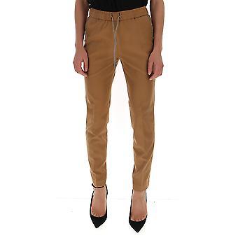 Fabiana Filippi Pad129w826a4211209 Women's Brown Wool Pants
