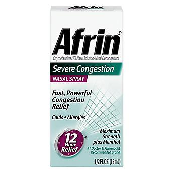 Afrin severe congestion nasal spray, maximum strength, 0.5 oz