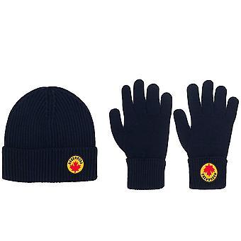 Canada Logo Beanie And Gloves Set
