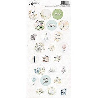 Piatek13 - Sticker sheet Truly Yours 03 P13-TRU-13 10.5x23 cm