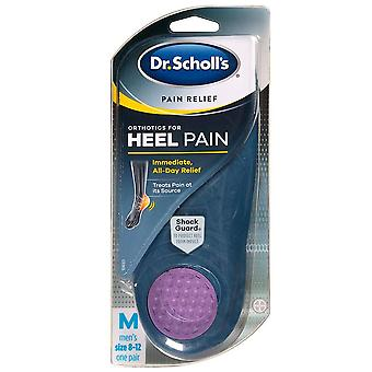 Dr. scholl's p.r.o. pain relief orthotics for heel pain, men's, 1 pair