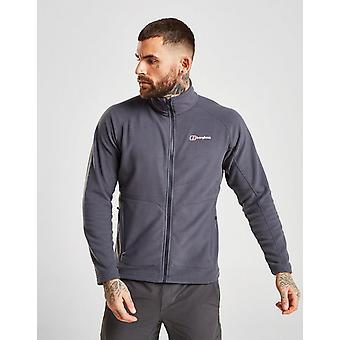 New Berghaus Men's Hartsop Full Zip Fleece Jacket Grey