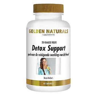 Golden Naturals Detox Tuki (60 vegaanikapselia)