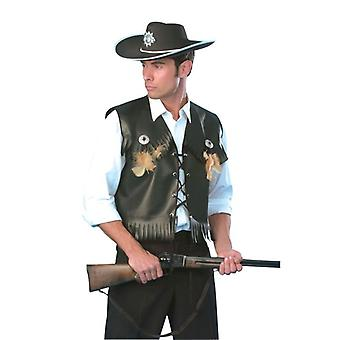 Cowboy vest zwart FF 56/58