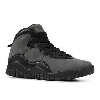Air Jordan 10 Retro Bg (Gs) 'Donkere schaduw' - 310806 - 002 - schoenen