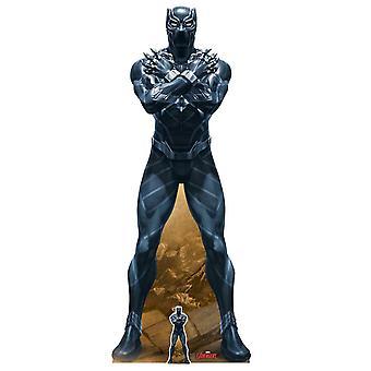 Black Panther King of Wakanda Marvel Legends officiële kartonnen cutout / Standee