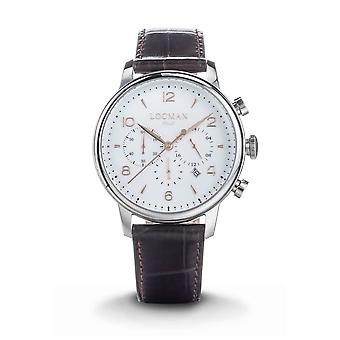 LOCMAN - Wristwatch - Men - 0254A08R-00WHRG2PT - 1960 QUARTZ CHRONOGRAPH