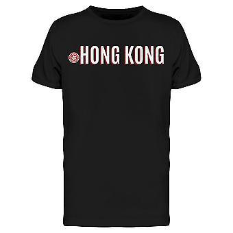 Hong Kong Symbol Patriotic Tee Men's -Imagem por Shutterstock