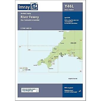 Imray Chart Y46 River Fowey Laminated - Laminated Y46 River Fowey (Sma