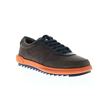 Camper Marges  Mens Brown Low Top Lace Up Euro Sneakers Shoes
