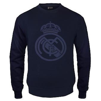Real Madrid Mens Sweatshirt Graphic Top Cadeau officiel de football