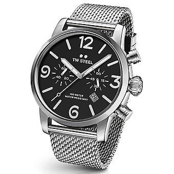 TW Steel MB14 Maverick chronograaf horloge 48 mm