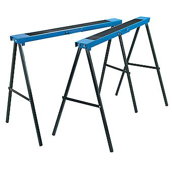 Draper 52072 1000 x 800mm Pair Of Fold Down Trestles