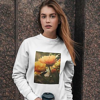 Unsexe Crew Neck Sweatshirt | Fleurs esthétiques