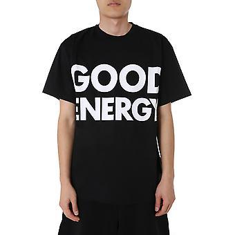 Moschino 071570401555 Heren's Zwart Katoen T-shirt