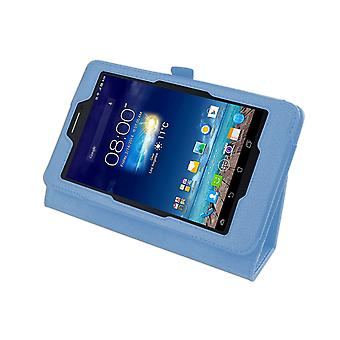 "Magnetic PU Leather Case Cover for Asus FonePad 7 ME175CG 7""[Light Blue]"
