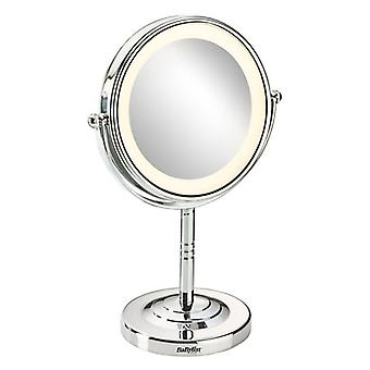 Spiegel met montagebeugel 8435e Babyliss 8 LED