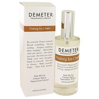 Demeter nuez moscada helado Colonia Spray por Demeter 4 oz Colonia Spray