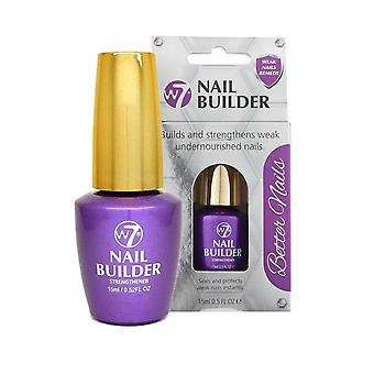 W7 Cosmetics Nail Builder Build and Strengthen 15ml Seals, Protects