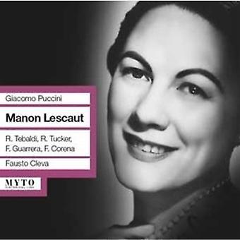 Puccini / Tucker - Manon Lescaut: Tucker [CD] USA import