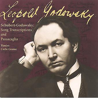 L. Godowsky - Godowsky: Passacaglia on the Opening of Schubert's Unfinished Symphony; Transcriptions [CD] USA import