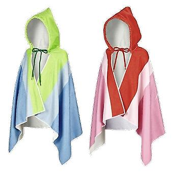 Beco Sealife Soft and Cozy Hooded Poncho Bath Towel