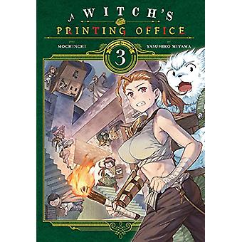 A Witch's Printing Office - Vol. 3 by Mochinchi - 9781975309930 Book