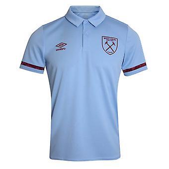 Camisa Poli Polo do West Ham 2020-2021 (Azul)