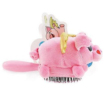 Wet Brush Plush Brush - # Flying Pig 1pc