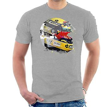 Motorsport Images Ayrton Senna Japanese Grand Prix 1993 Men's T-Shirt