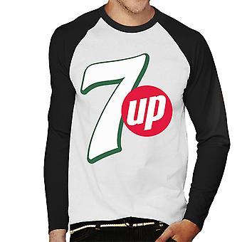 7up Modern Logo Men's Baseball Long Sleeved T-Shirt