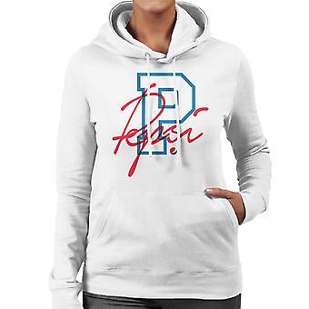 Pepsi Retro College Sports Women's Hooded Sweatshirt