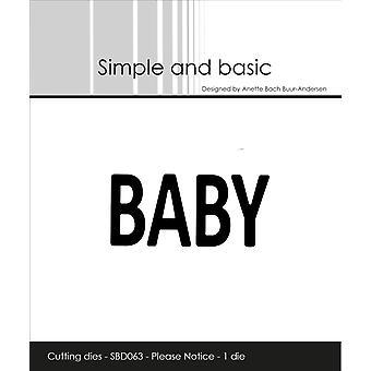 Enkel och grundläggande Baby Dies