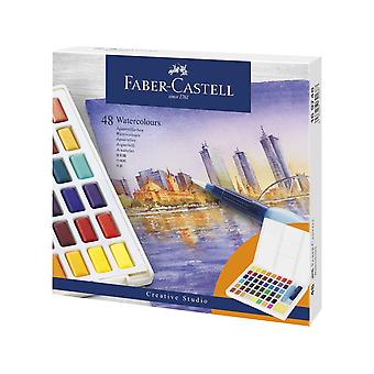 Faber Castell Watercolour Paint Box (48pcs) (FC-169748)