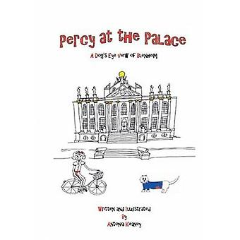 Percy at the Palace door Keaney & Antonia