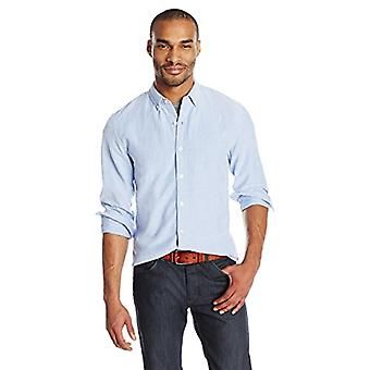 """Brand - Goodthreads Men's """"The Perfect Oxford Shirt"""" Slim-Fit Long-Sleeve Solid, Blue, 1XL Tall"""