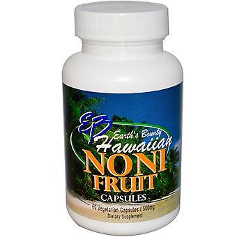Earth's Bounty, Noni Fruit, Hawaiian, 500 mg, 60 Vegetarian Capsules