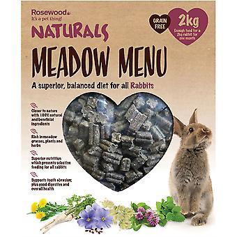 Naturals Meadow Menü Nyúl - 2kg