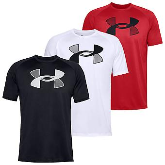 Under Armour Mens Big Logo Tekniska UA Tech FuktTransporterande T-shirt
