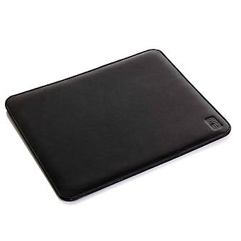 Black Oxford Leather Mouse Mat