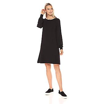 Marca - Daily Ritual Women's Supersoft Terry Relaxed Sweatshirt Dress,...
