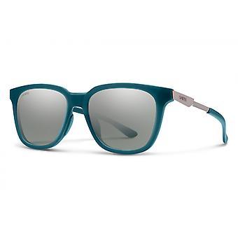 نظارات شمسية Unisex تجول الجيش الأخضر / الفضة