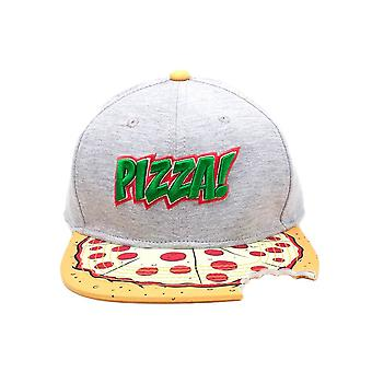 Teenage Mutant Ninja Turtles 'Pizza!' Bite Snapback Cap