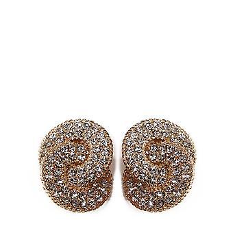Alessandra Rich Faba2202j004002 Mujer's Pendientes de metal de oro