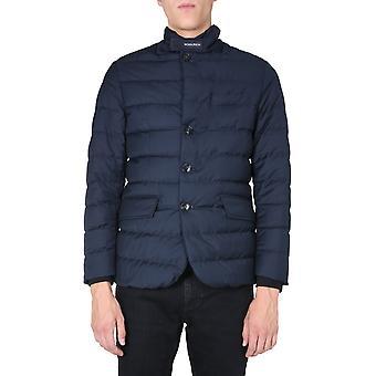 Woolrich Woou0323mrut23463989 Men's Blue Polyester Outerwear Jacket