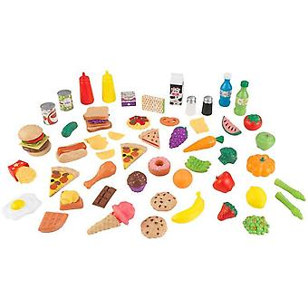 Kidkraft 65 Piece Play Food Set
