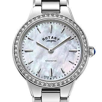 Rotary White Kensington Woman's Watch LB05275/07