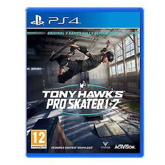 Tony Hawk's Pro Skater 1 + 2 PS4 Game